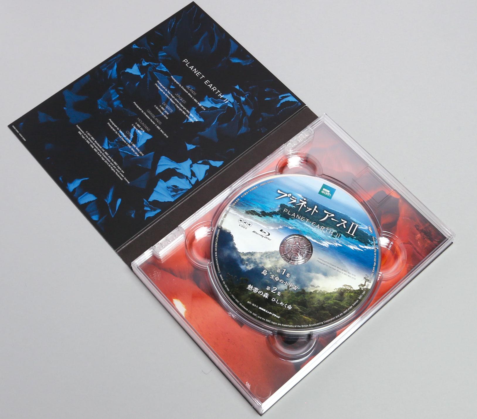 プラネットアース2 blu ray dvd series rokken inc